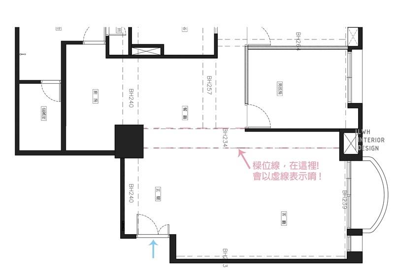室內設計樑位圖