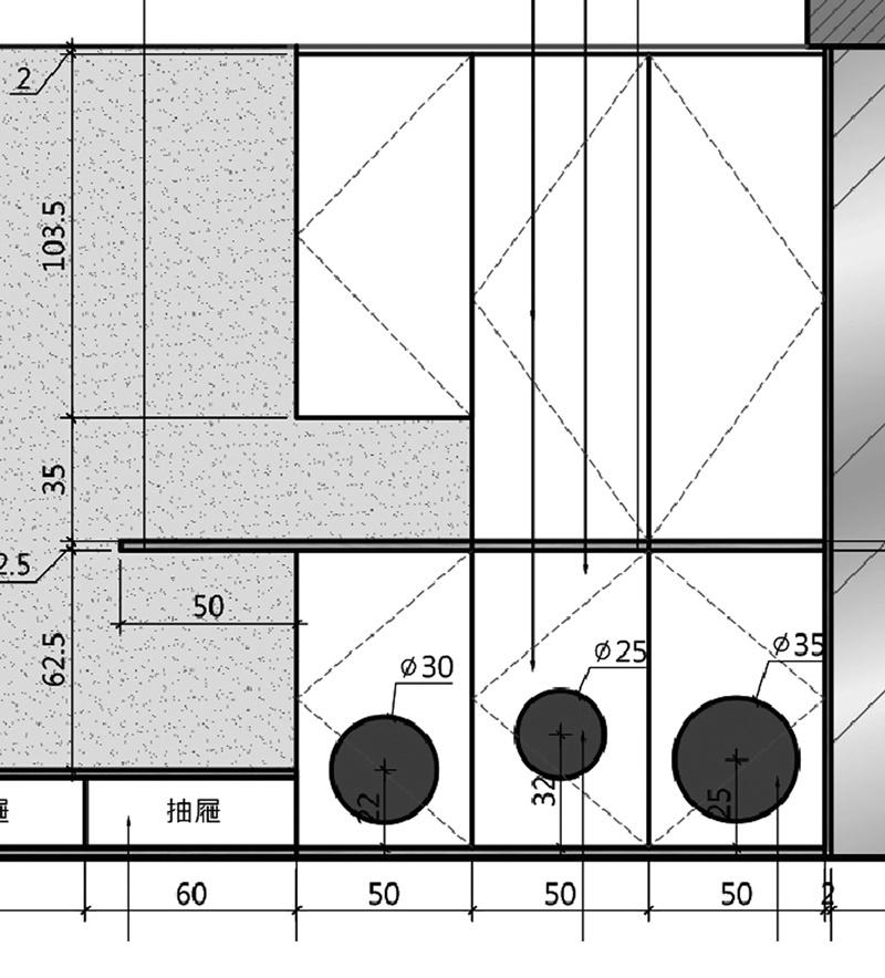 貓洞及收納櫃尺寸圖
